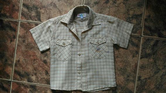 Camisa De Niño Talla 2 Marca Buby