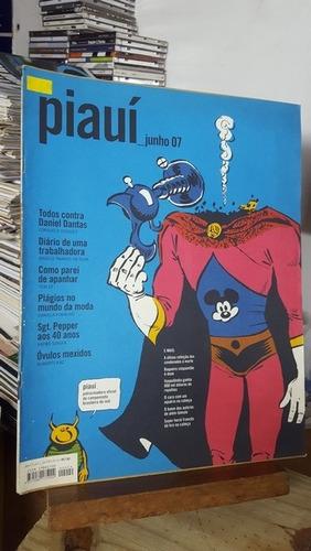 Revista Piauí 9 - Todos Contra Daniel Dantas / Diário De Uma