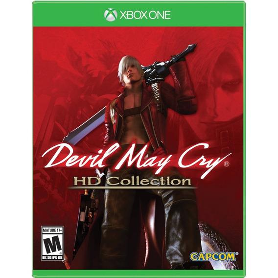 Devil May Cry Hd Collection Xbox One Mídia Física Lacrado