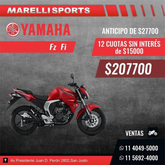 Yamaha Fz Fi, 12 Cuotas Sin Interes En Marelli Sports