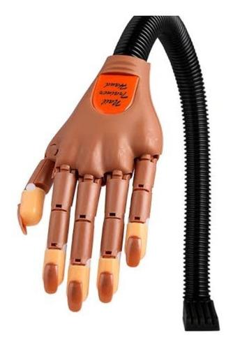 Nail Training Hand Mano De Practica Manicure