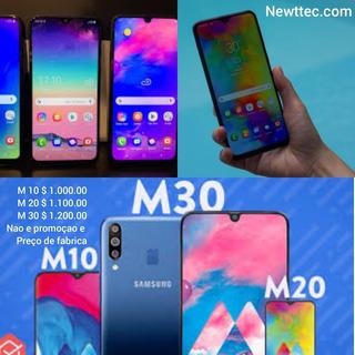 Smartphone: Samsung M10 . M20 . M30.
