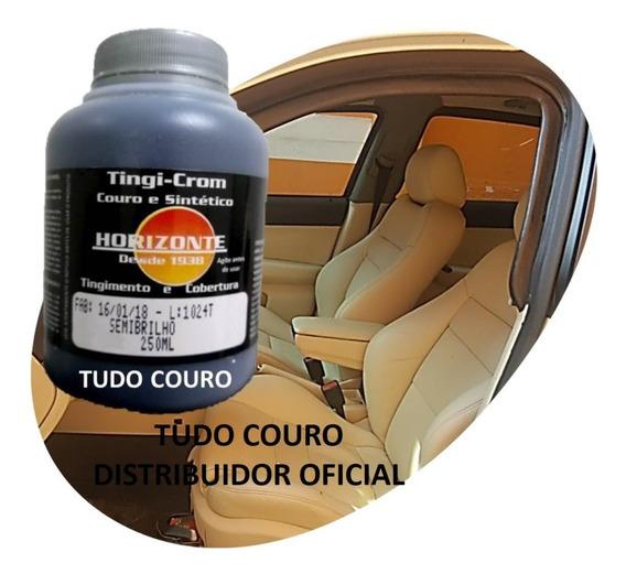 Kit Tinta Para Couro 250ml + 100ml Diluente Horiz. D Oficial