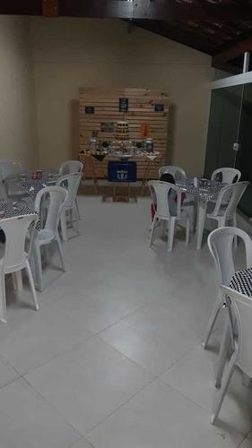 Locacao De Mesas E Cadeiras Plastico Ferro E Madeira