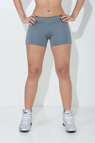 Shorts Shortinho Feminino Curto Suplex Alta + Brinde