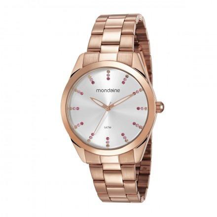 Relógio Mondaine Feminino 53672lpmvre4 Rosê + Nfe