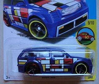 Hot Wheels Hw Art Cars 9/10 Blue Boom Box 199/250 Showdown S