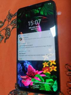 LG G8s Com Tela Trazeira Trincada Modelo Live Demo