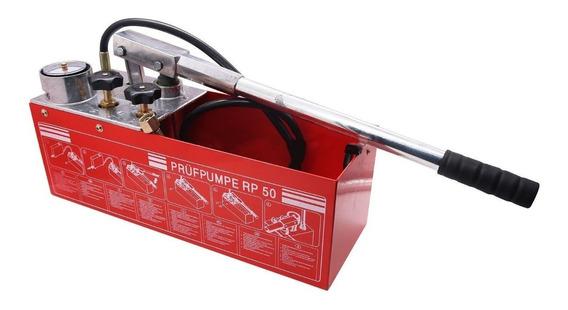 Bomba Prueba Presión Hidráulica Manual 800psi Rp50