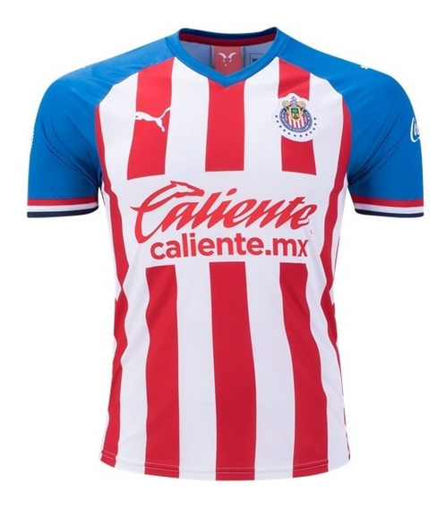 Camisa Chivas Home - Pronta Entrega