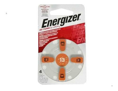 Pila Energizer Az 13 X 20unidades Audifono Audiologia