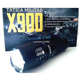Lanterna X900 100% Original Zoom Potente Mais Forte Mundo