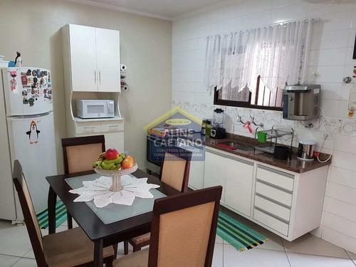 Sobrado 2 Dorms, Mirim, Praia Grande - R$ 850 Mil - Vact1263