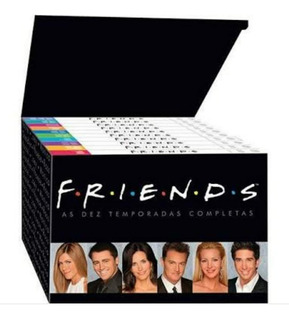 Box De Dvd Série Friends - Semi-novo