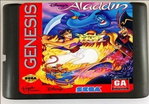 Aladdin Em Português Mega Drive Pronta Entrega