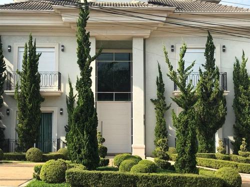 Imagem 1 de 17 de Casa Em Condomínio 6 Quartos Santana De Parnaíba - Sp - Tamboré - 900