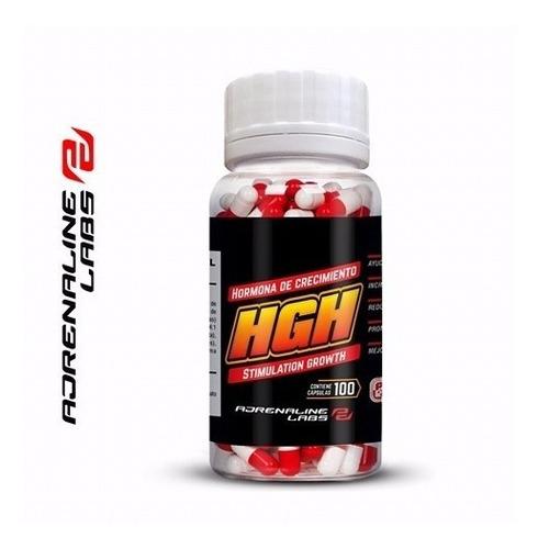 Hgh De Adrnaline Labs 100 Caps Prohormonal En Activationperu