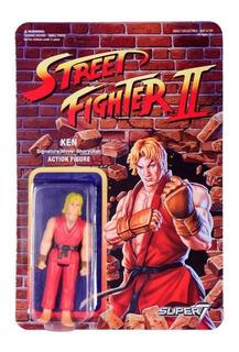 Figura Street Fighter 2 Ken Retro Super7