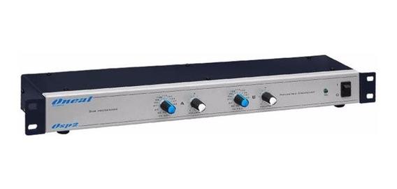 Crossover Oneal Osp2 De Áudio Stéreo P/ Graves E Subgraves