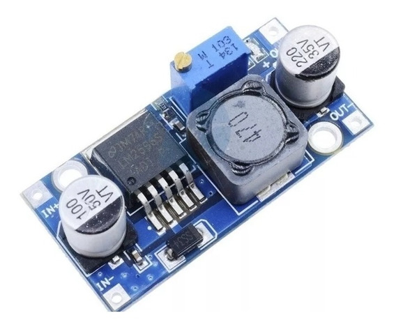 Regulador De Tensão Step Down Buck Dc Lm2596 3a Arduino Rasp