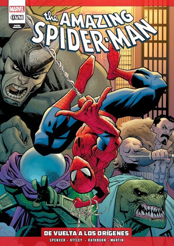 Imagen 1 de 5 de Cómic, Amazing Spiderman Vol. 1 De Vuelta A Los Orígenes