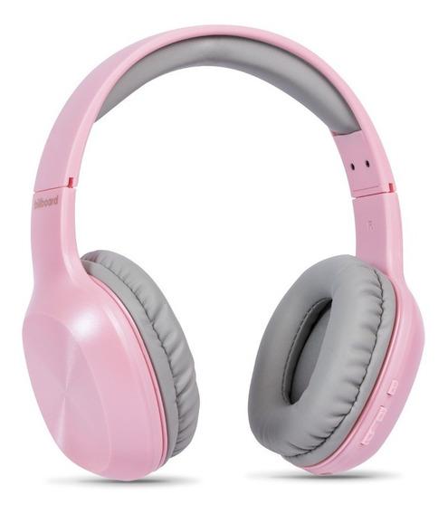 Audífono Billboard Symphony Bluetooth Rosa Con Envío Gratis