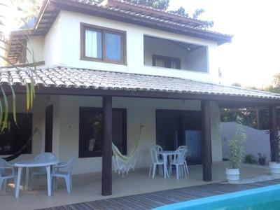 Casa De Condominio 4 Quartos Sendo 3 Suítes 270m2 Em Praia Do Forte - Hei392 - 33903670