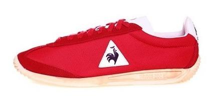 Tenis Le Coq Sportif Quartz Vintage Rojo Nuevo Original