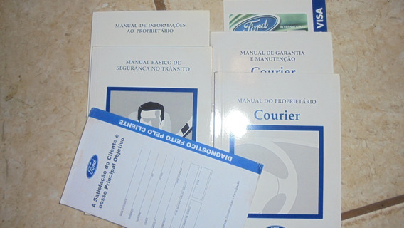 Ford Courier 1998 Manual Do Proprietário Original