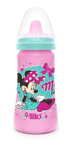 Copo Colors Bico De Silicone Disney Minnie Rosa - Lillo