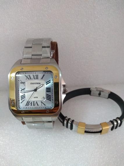 Relógio De Pulso Mondaine Mod. Cartier