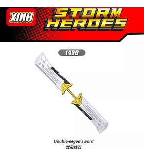 Minifigura Doble Espada Thanos Double Edged Xinh 1400 Marvel