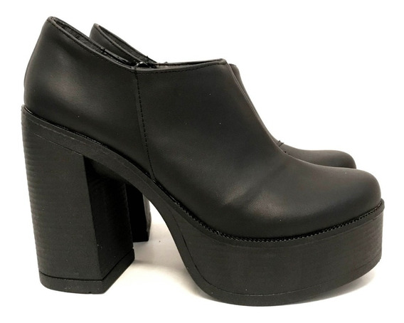 Botas Zapatos Mujer Taco Plataforma Monakia Art 730n