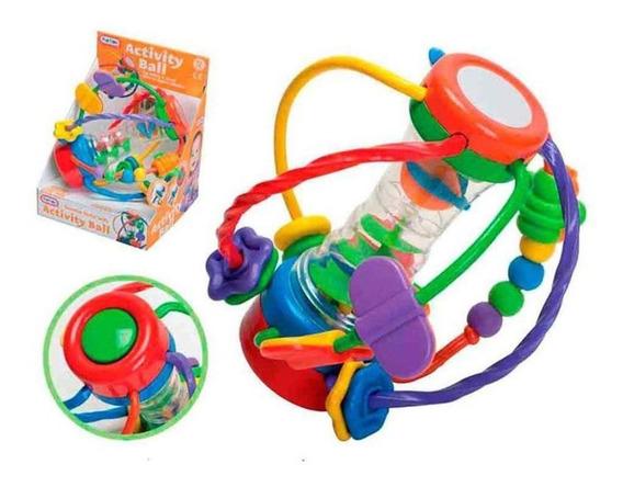 Brinquedo Infantil Bola De Atividades Fun Time Multikids