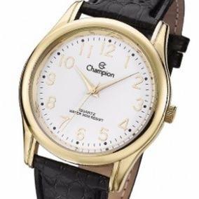 Relógio Champion Original, Novo, Pulseira De Couro Cn28062b