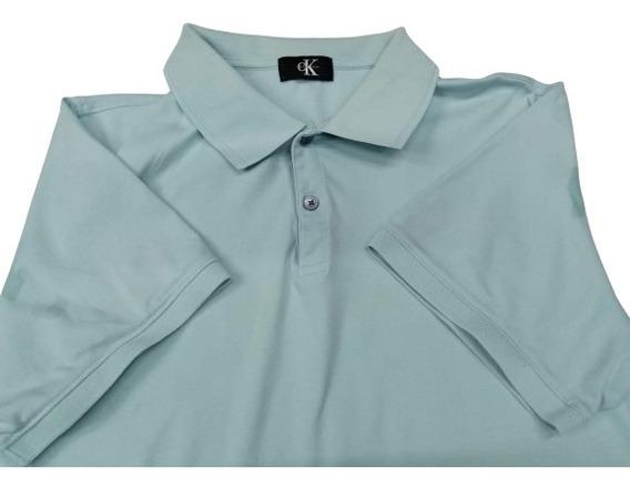 Polo Calvin Klein Hombre # L Original Premium Remate Fina
