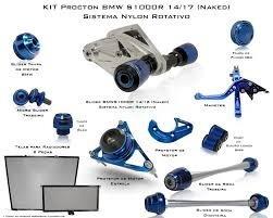 Kit Slider Procton Bmw S1000r Naked 2014 À 2017