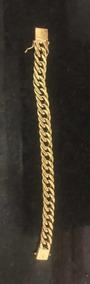 Pulseira Ouro Grumet Duplo 10mm