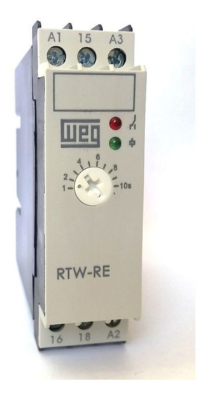 Rele Tempo Rtw Re 02-u010se40 220v Weg