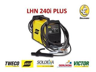 Maquina De Soldar Lhn 240i Plus Esab Weldermania Jc Solution