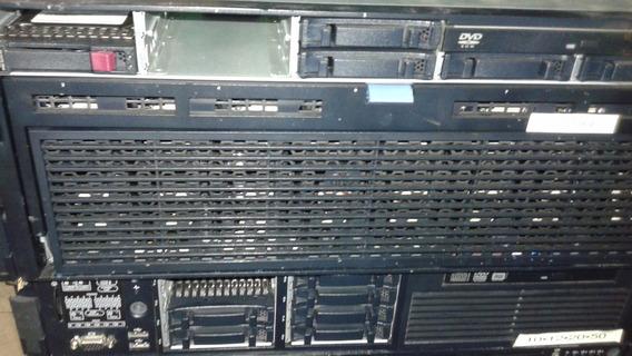 Servidor Hp Dl 580 G7 4 Processadores Quad 32 Gb Ram Sas