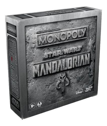 Jogo Tabuleiro Monopoly Star Wars Mandalorian Hasbro F1276