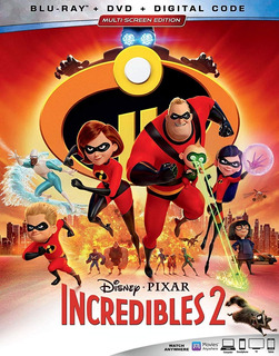 Blu Ray Incredibles 2 Disney Pixar Increibles Orig Cons Stoc
