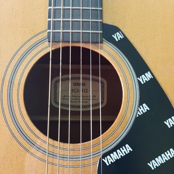 Guitarra Electroacustica Yamaha. Mod. Fgx-412c