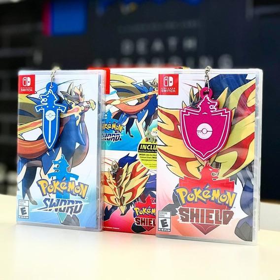 Pokemon Espada & Escudo Switch + Pin Entrega Inmediata!!