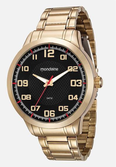 Relógio Mondaine Masculino Dourado 99142gpmvde3