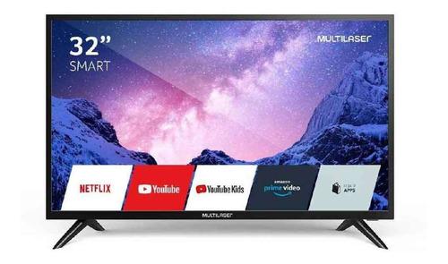 Imagem 1 de 4 de Tv Smart  Tela 32 Polegadas Hd Com Função Wifi Integrado