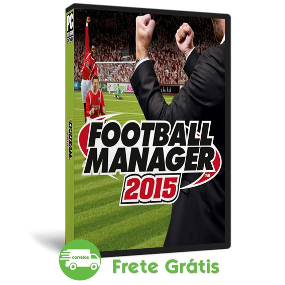 Football Manager 2015 Pc Fm 15 Mídia Física Português (dvd)