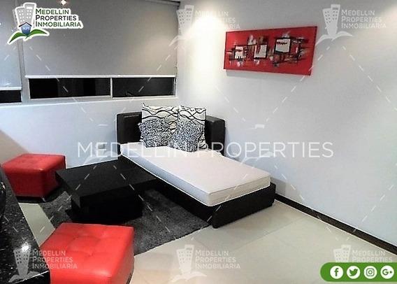 Apartamentos Amoblados Baratos En Medellín Cód: 4189