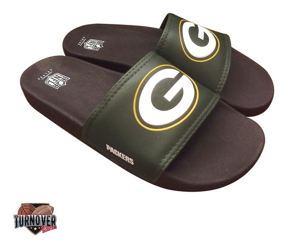 Chinelo Green Bay Packers Nfl Colors